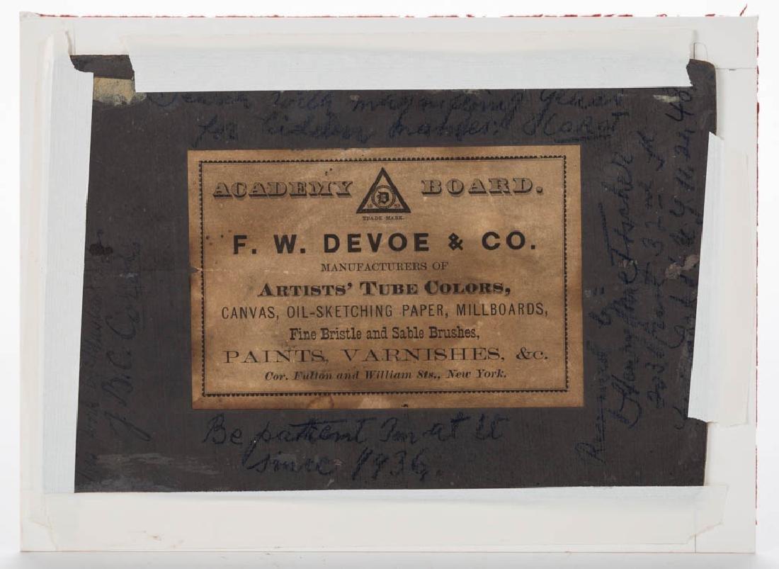 AMERICAN SCHOOL (19TH CENTURY) LANDSCAPE PAINTING - 2