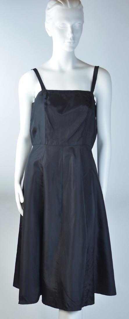 ASSORTED LADY'S SILK DRESSES, LOT OF TWO