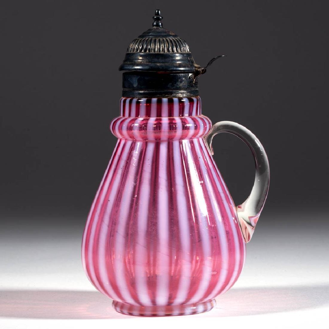 STRIPE - RING NECK SYRUP PITCHER