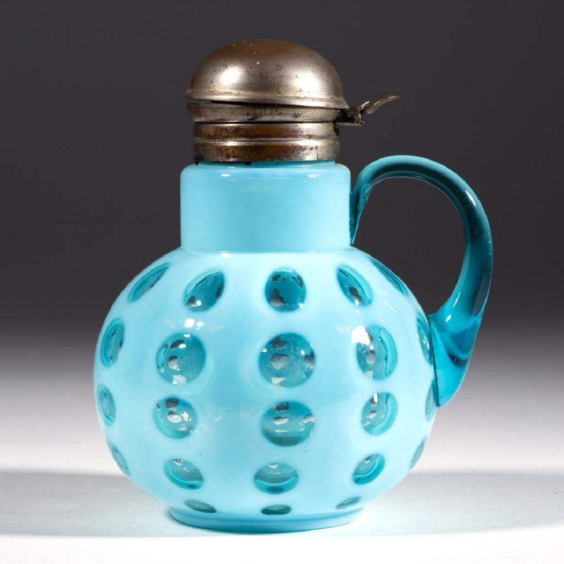 WEST VIRGINIA MOLD - POLKA DOT SYRUP PITCHER