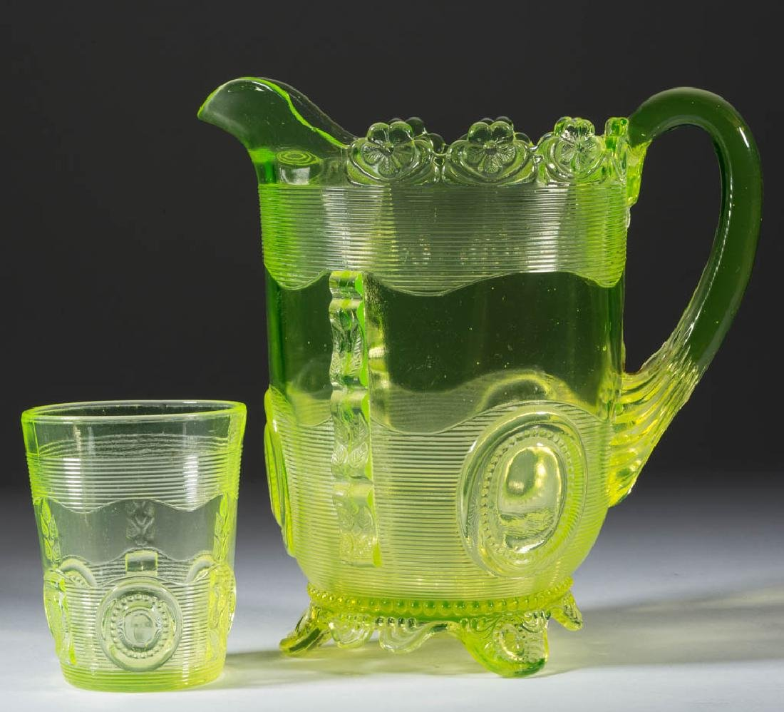 GREENTOWN DEWEY WATER PITCHER AND TUMBLER
