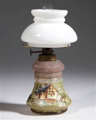 DECORATED AND OVERSHOT PANEL OPTIC MINIATURE LAMP