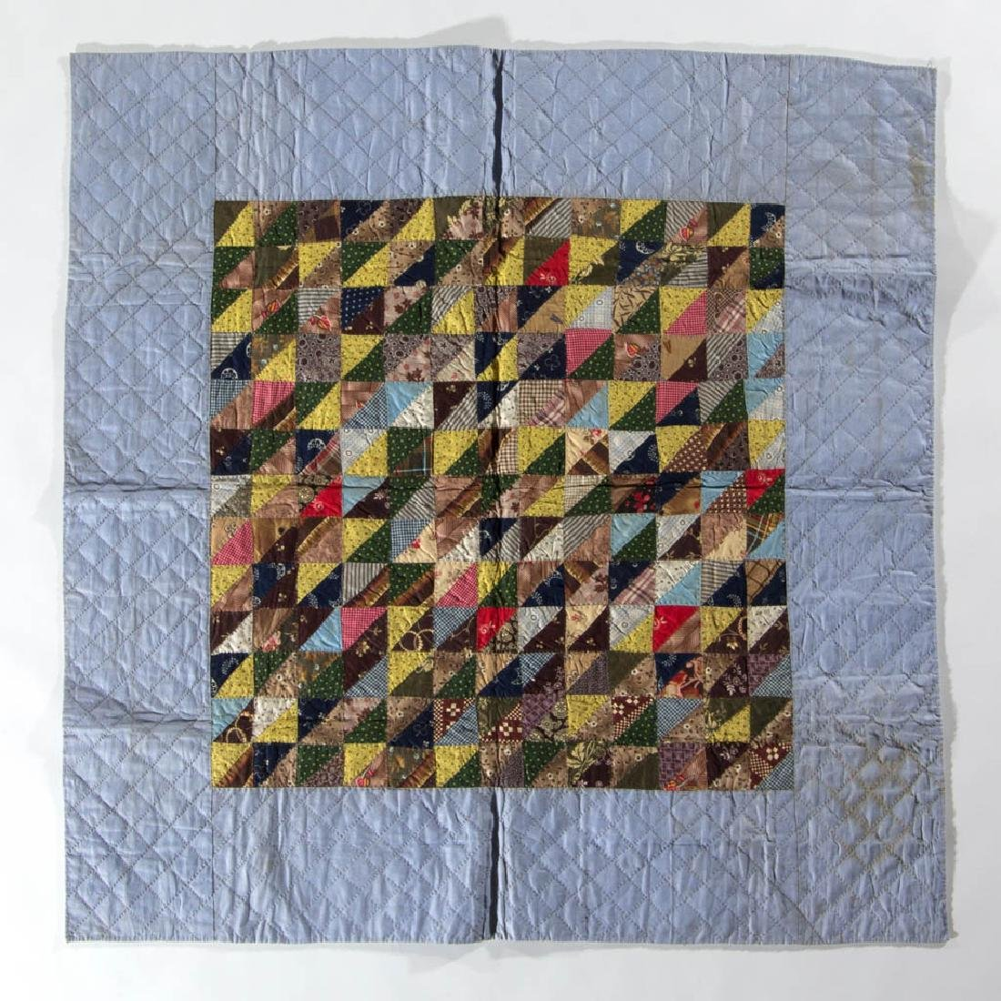 PENNSYLVANIA PIECED CRIB QUILT