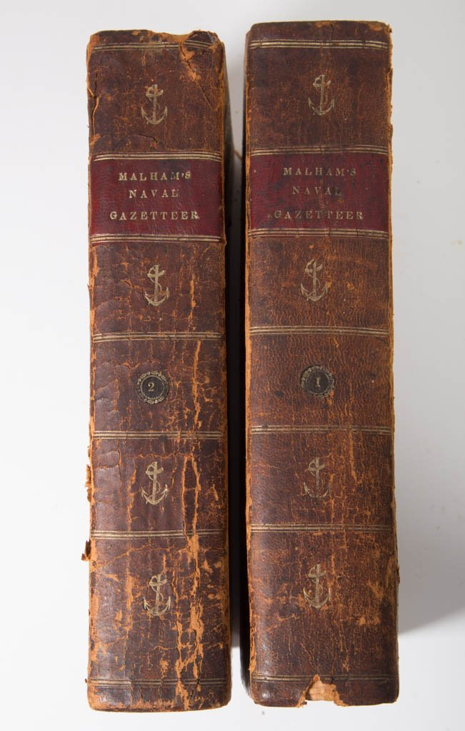 EARLY MARITIME TWO-VOLUME SET WITH MAPS - 5