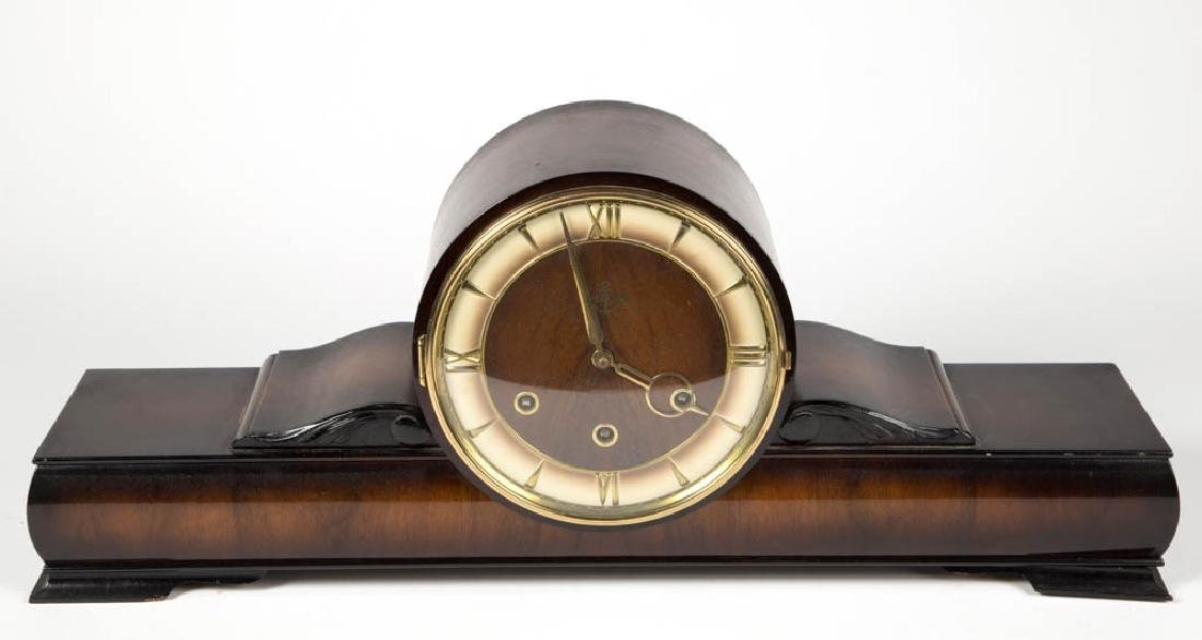 ASSORTED SHELF / MANTLE CLOCKS, LOT OF TWO - 3