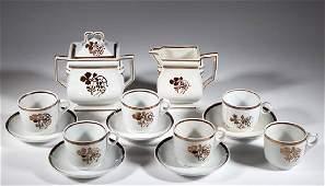ENGLISH TEA LEAF WITH BERRY / COFFEEBERRY IRONSTONE