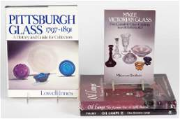 ASSORTED GLASS AND LIGHTING REFERENCE VOLUMES, LOT OF