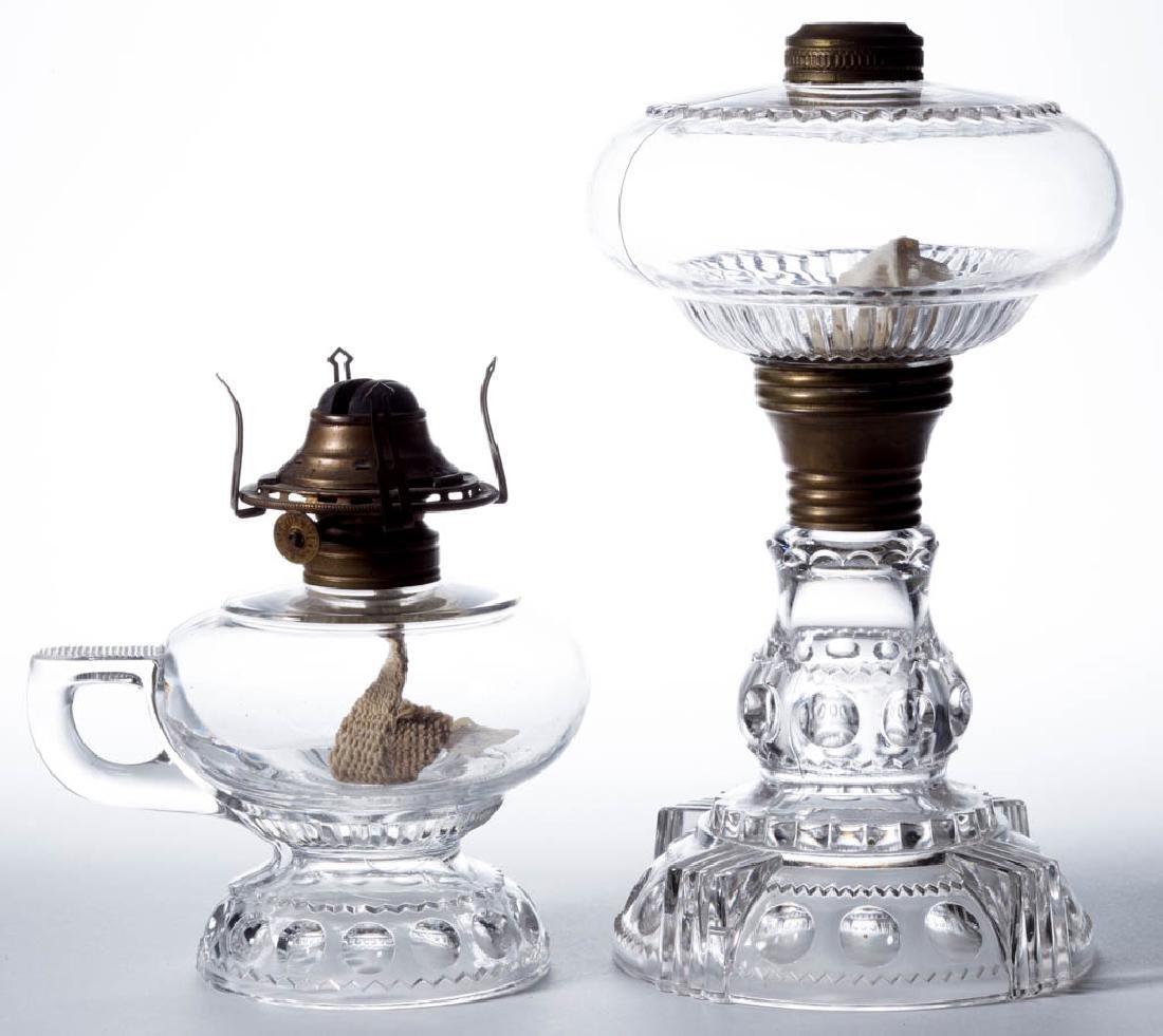 KING'S CROWN / EXCELSIOR (OMN) KEROSENE LAMPS, LOT OF