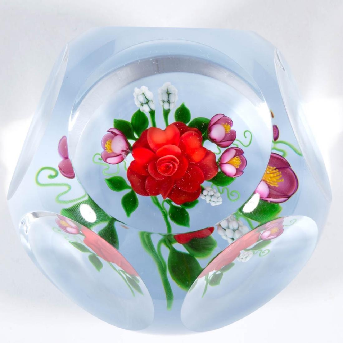 VICTOR TRABUCCO FLOWER BOUQUET STUDIO ART GLASS - Oct 12