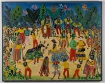 ROSINA BECKER DO VALLE (BRASILIAN, 1914-2000) FOLK ART