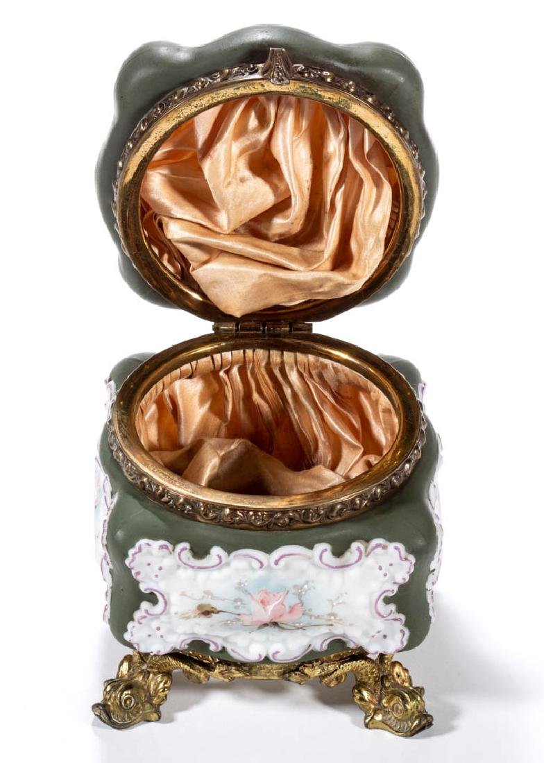 WAVE CREST ROCOCO SQUARE FOOTED BOWL - 2