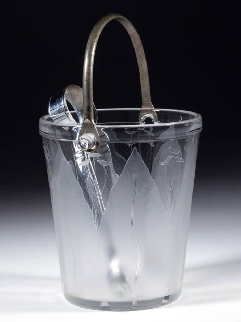 DORFLINGER KALANA LILY ICE BUCKET