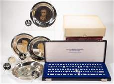 THE FRANKLIN MINT STERLING SILVER COLLECTOR'S ARTICLES,