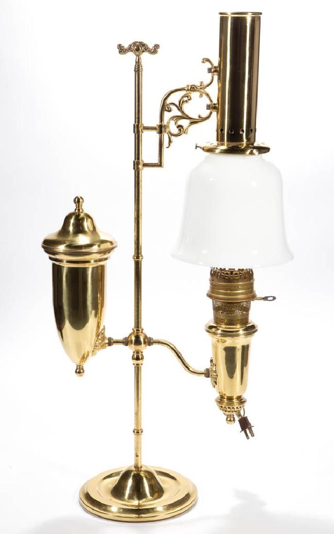 ALADDIN 1983 REPRODUCTION ELECTRIC STUDENT LAMP