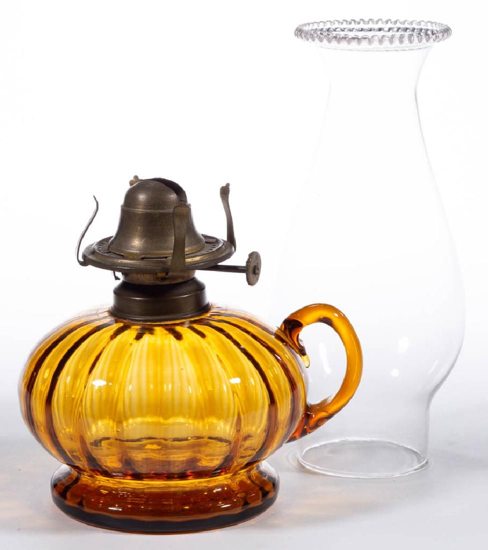 RIB-OPTIC KEROSENE FINGER LAMP
