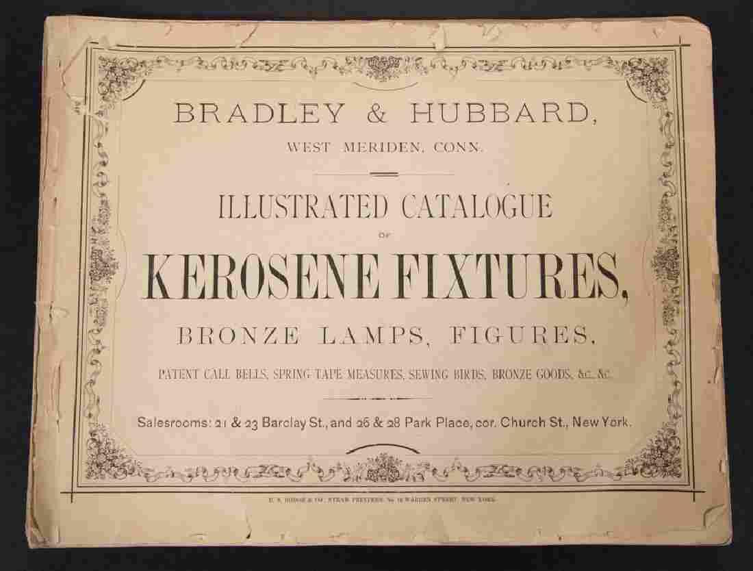 BRADLEY & HUBBARD LAMP DEALER / TRADE CATALOGUE