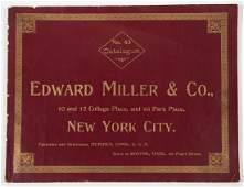 EDWARD MILLER  CO LAMP DEALER  TRADE CATALOGUE