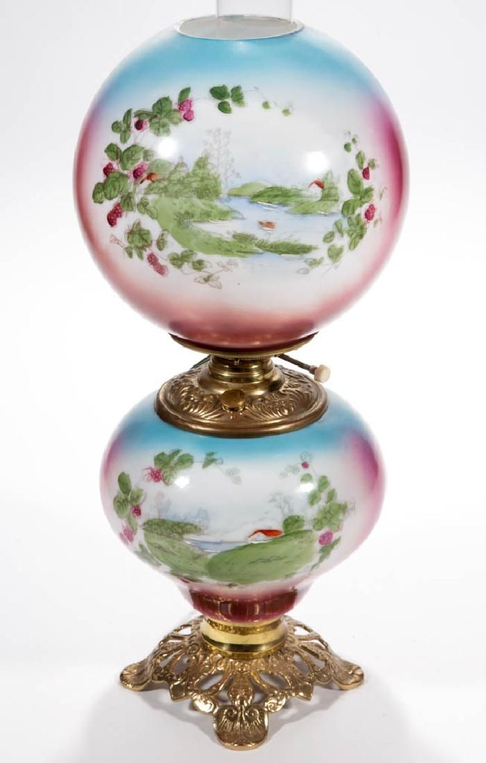VICTORIAN ENAMEL-DECORATED PARLOR / GONE WITH THE WIND