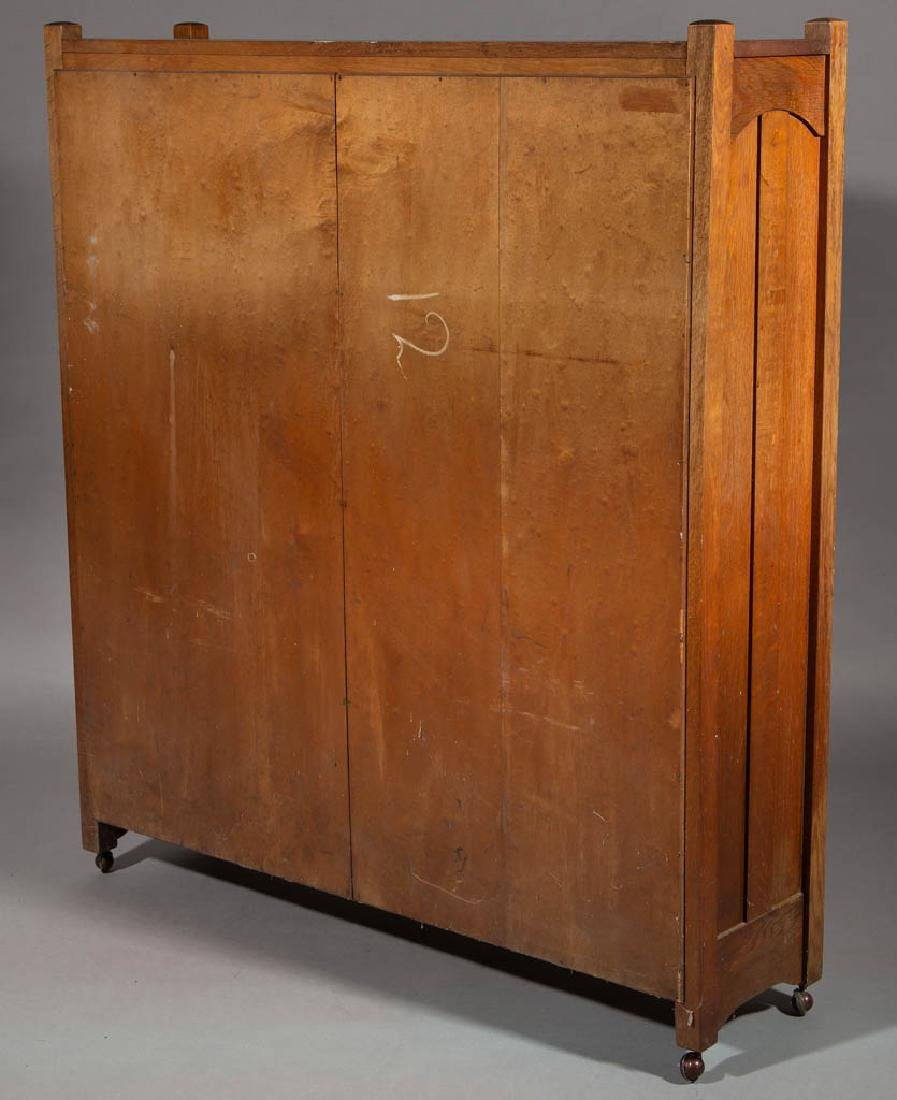STICKLEY BROTHERS ARTS & CRAFTS / MISSION OAK BOOKCASE - 3