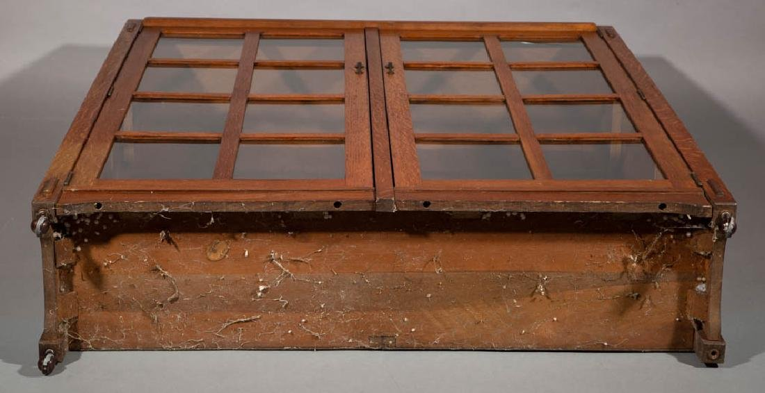 STICKLEY BROTHERS ARTS & CRAFTS / MISSION OAK BOOKCASE - 4