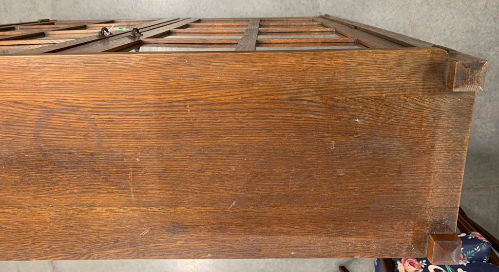 STICKLEY BROTHERS ARTS & CRAFTS / MISSION OAK BOOKCASE - 7