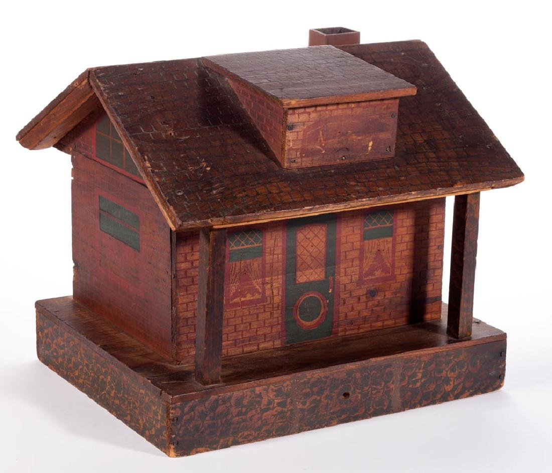 AMERICAN PYROGRAPHIC DOLL HOUSE