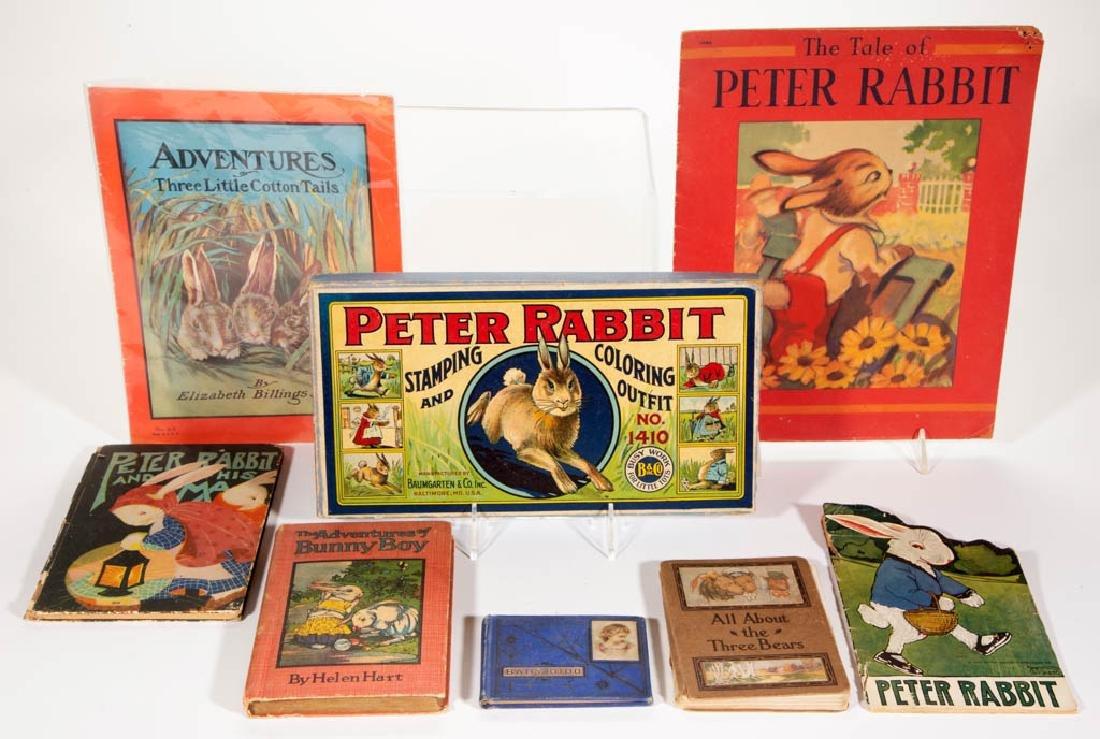 ASSORTED CHILDREN'S BOOKS / PUBLICATIONS, LOT OF SEVEN