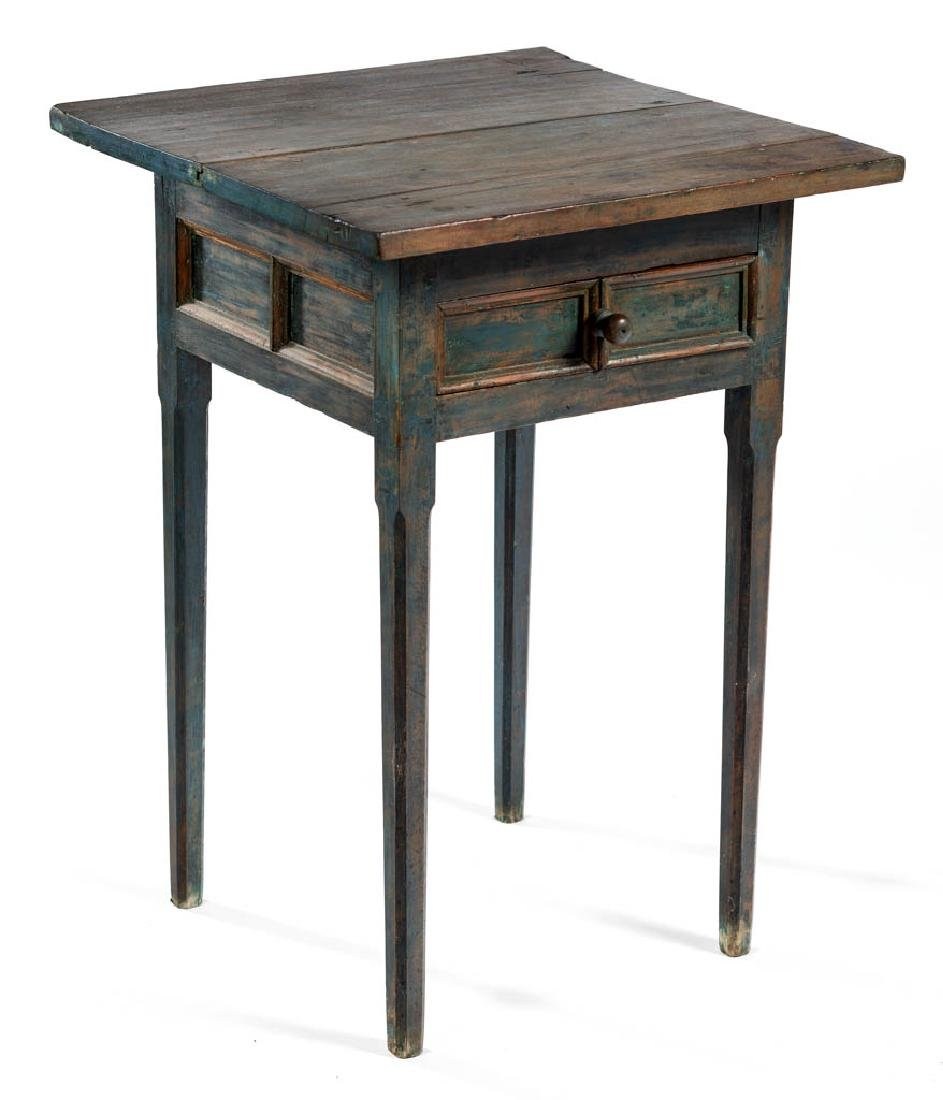 AMERICAN PAINTED POPLAR STAND TABLE