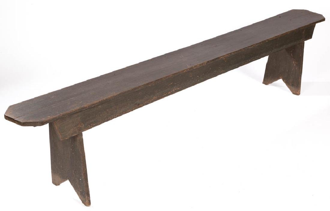 SOUTHERN PAINTED YELLOW PINE BENCH