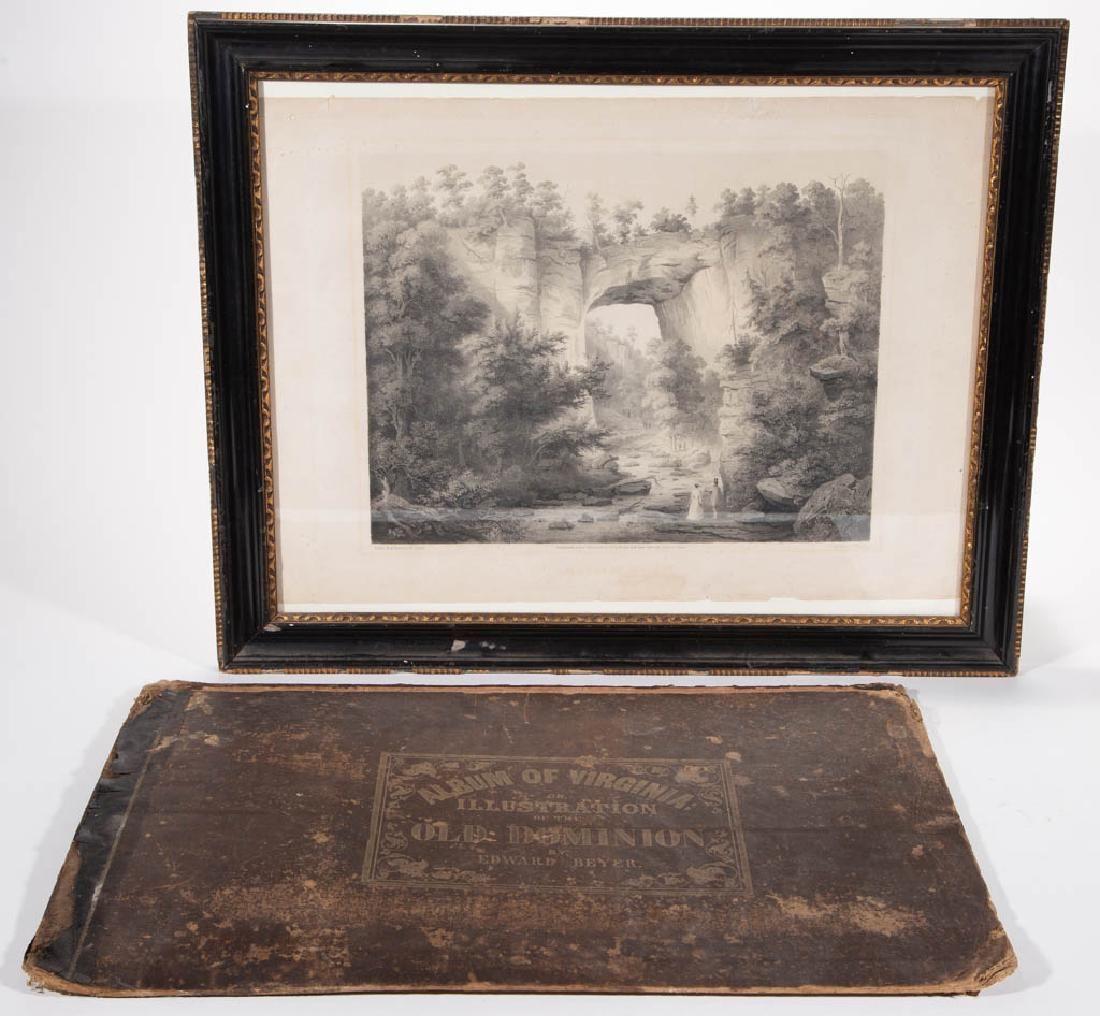 "EDWARD BEYER (1820-1865) ""ALBUM OF VIRGINIA"" PRINT"