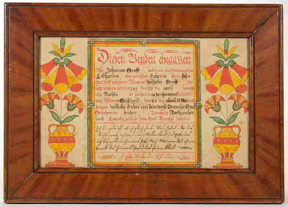 JOHANN VALENTIN SCHULLER (NORTHUMBERLAND CO.,