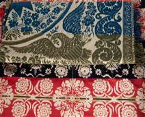 PENNSYLVANIA SIGNED AND DATED JACQUARD COVERLET