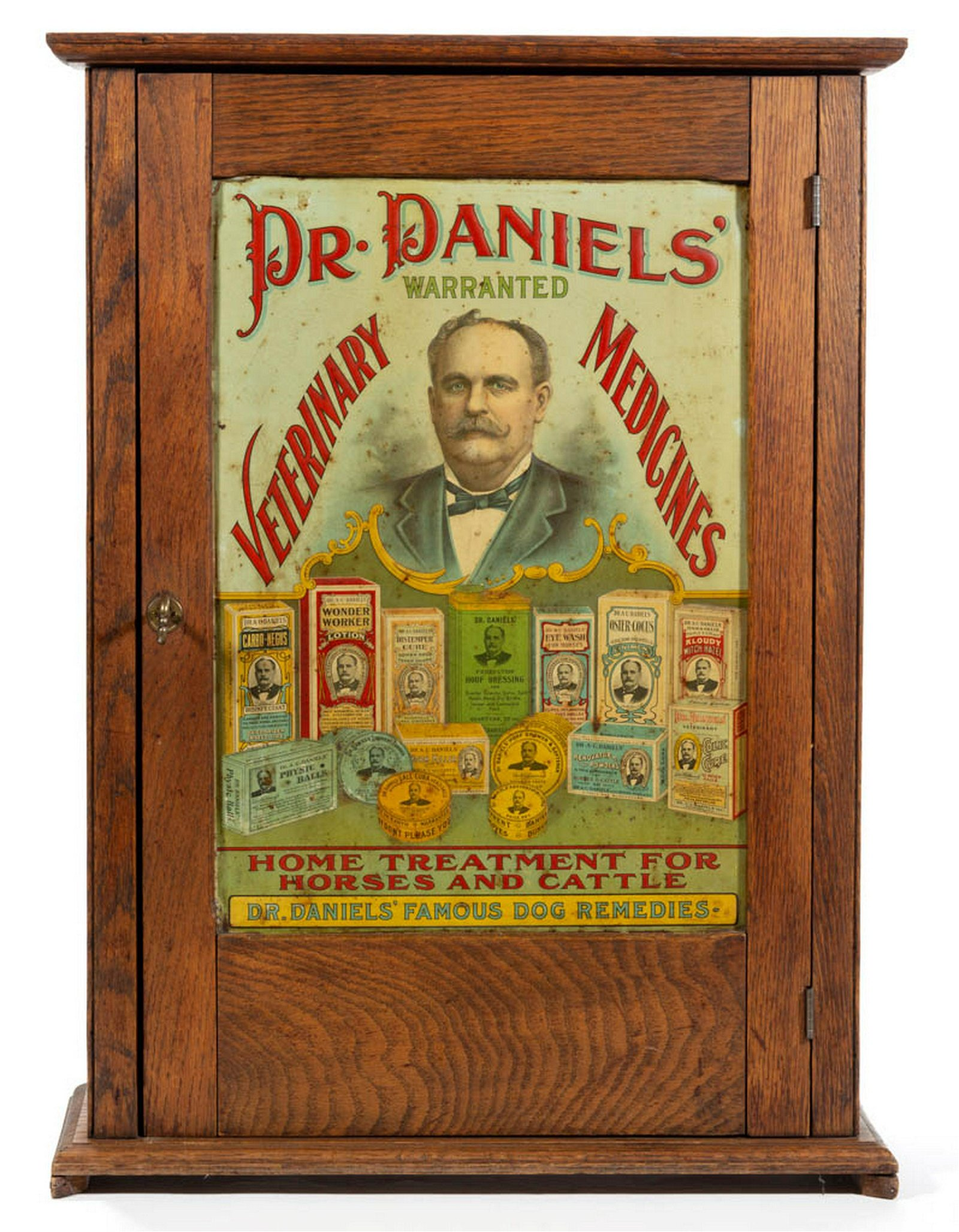 DR. DANIELS VETERINARY MEDICINE ADVERTISING STORE