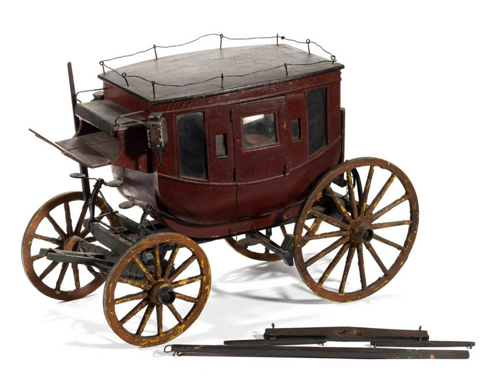 DOLL / TOY STAGE COACH MODEL
