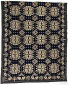 NEW YORK DATED DOUBLE WEAVE COVERLET