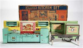 VINTAGE KITCHEN TOYS, LOT OF TWO