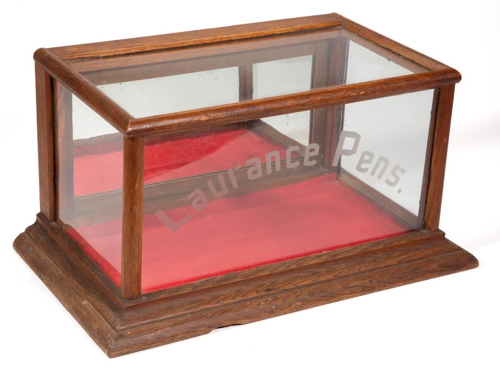 LAURENCE PENS ADVERTISING GENERAL STORE COUNTER-TOP