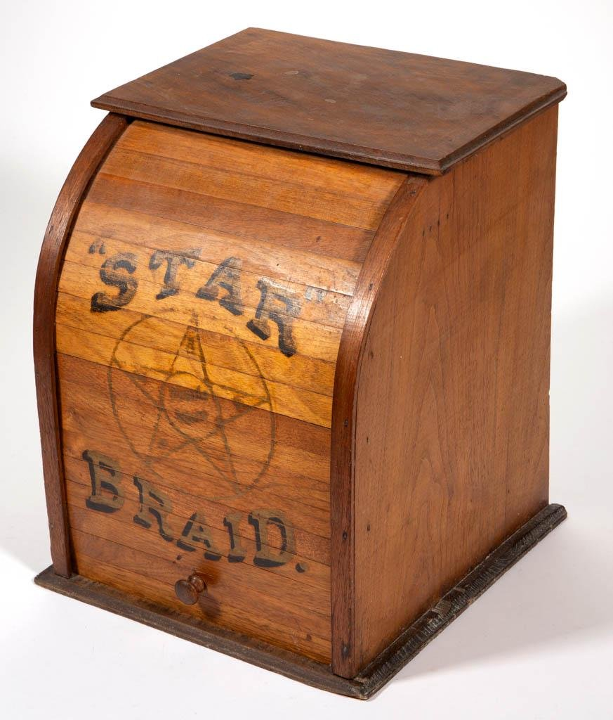 STAR BRAID ADVERTISING GENERAL STORE COUNTER-TOP SPOOL