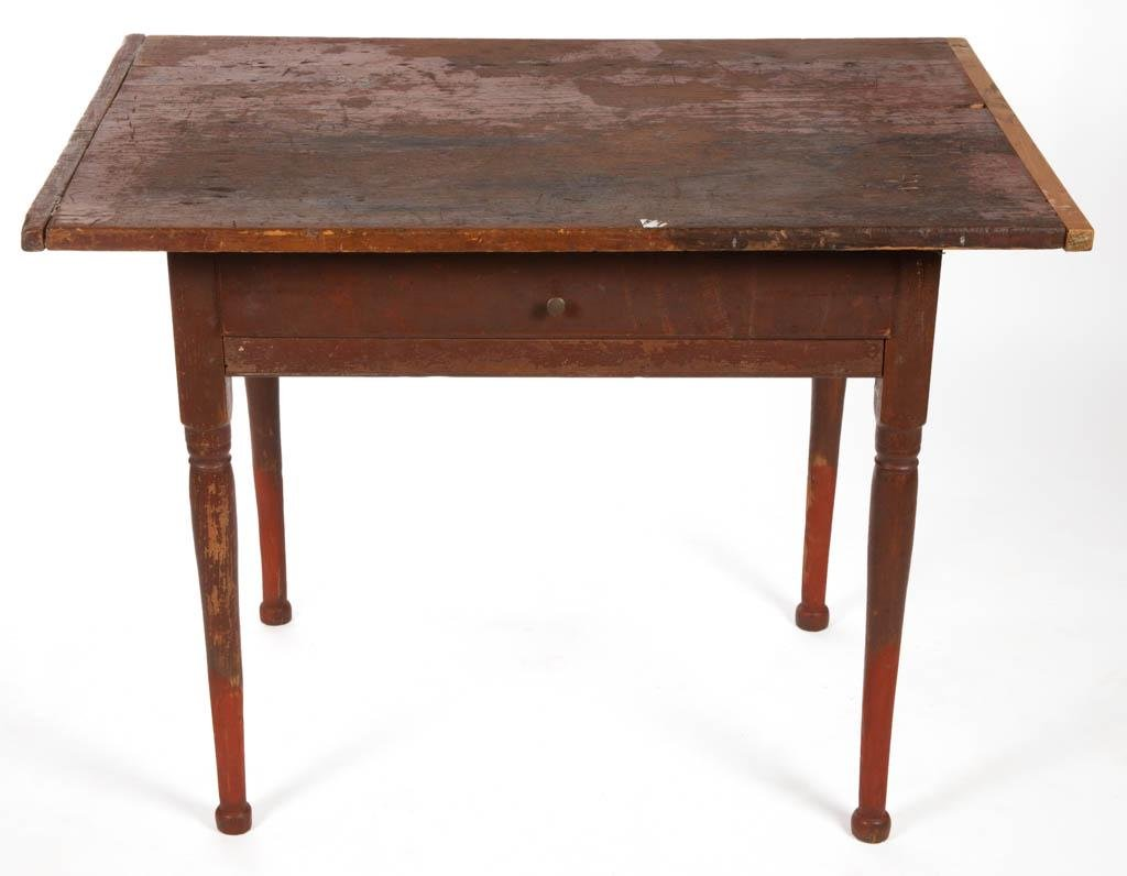 AMERICAN PAINTED PINE TAVERN / WORK TABLE