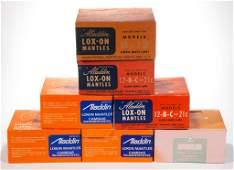 ALADDIN MODEL 12 B C AND 21C LOXON BOXES OF LAMP