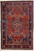 SEMIANTIQUE PERSIAN SCATTER ORIENTAL RUG