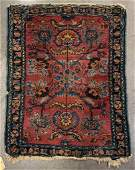 ANTIQUE PERSIAN SCATTER ORIENTAL RUG