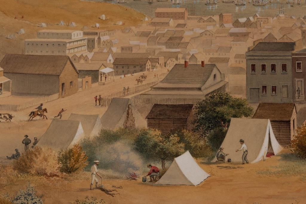 GEORGE HENRY BURGESS (BRITISH-AMERICAN, 1831-1905)