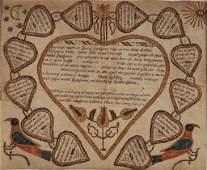 CHRISTIAN MERTEL (PENNSYLVANIA, 1739-1802) HEIDELBERG