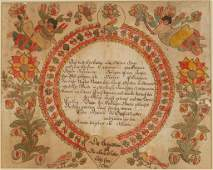 BLOUSY ANGEL ARTIST (PENNSYLVANIA, ACTIVE 1780-1811),