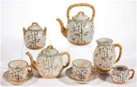 ENGLISH MAJOLICA BROWNHILL POTTERY CERAMIC TEA