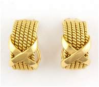 JEAN SCHLUMBERGER FOR TIFFANY  CO 18K YELLOW GOLD