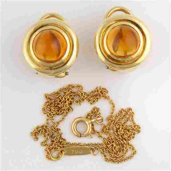 PALOMA PICASSO FOR TIFFANY & CO. 18K YELLOW GOLD AND