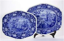 ENGLISH STAFFORDSHIRE TRANSFER-PRINTED CHINOISERIE