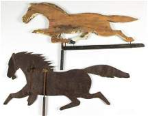 AMERICAN SHEET-METAL HORSE WEATHERVANE